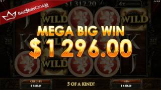 Game of Thrones Slot Lannister Mega Big Win - BestSlotsCanada.com(Mega Big Win on Game of Thrones! More winning videos plus FREE spins and exclusive bonuses at https://bestslotscanada.com., 2015-12-21T02:28:34.000Z)