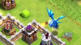 Clash of clans electric Dragon trailer