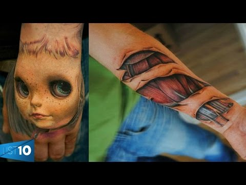 Craziest 3d Tattoos People Had The Guts To Get