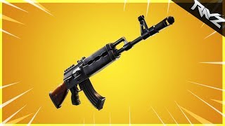 The New HEAVY AR In Fortnite Battle Royale! The Gold Scar Killer?