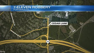 Police searching for person involved in overnight 7-Eleven robbery in Portsmouth