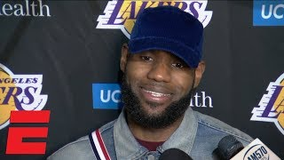 LeBron James says guarding Dwyane Wade was how it