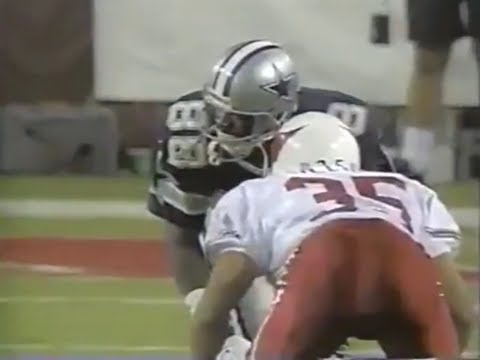 Michael Irvin vs Aeneas Williams (1997) | WR vs CB Matchup
