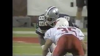 Michael Irvin vs Aeneas Williams (1997) | WR vs CB Matchup