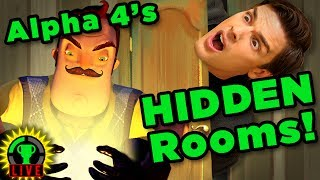 UNLOCKING the Secret Rooms! | Hello Neighbor Alpha 4 (Part 3)