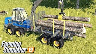 Zrywka drewna - Farming Simulator 19 | #75