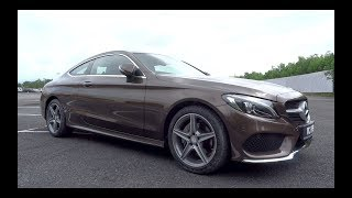 2016 Mercedes-Benz C 200 Coupe AMG Line Start-Up and Full Vehicle Tour