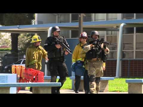 SWAT Training in Garden Grove