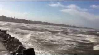 ساحل بورسعيد الان الساعه 1:05 ظهر الاربعاء 11 ديسمبر 2013