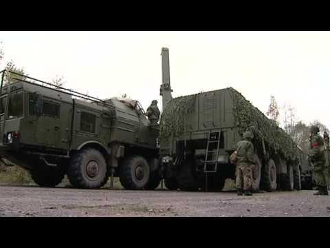 РФ отрабатывает нанесение ядерного удара по Европейским странам НАТО
