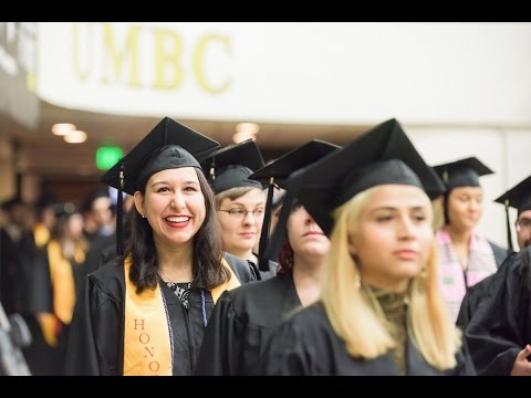 UMBC Winter 2016 Undergraduate Commencement Ceremony