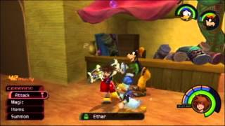 Kingdom Hearts FM [PS3] Commentary #059, Yellow Trinity and Glide Treasures