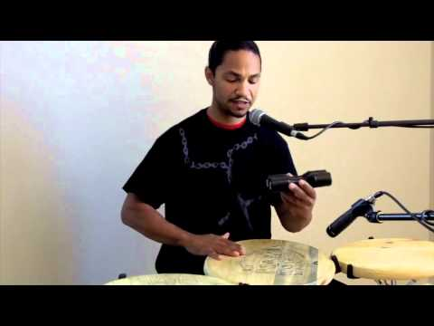 Percussion Lesson Shakers & Congas