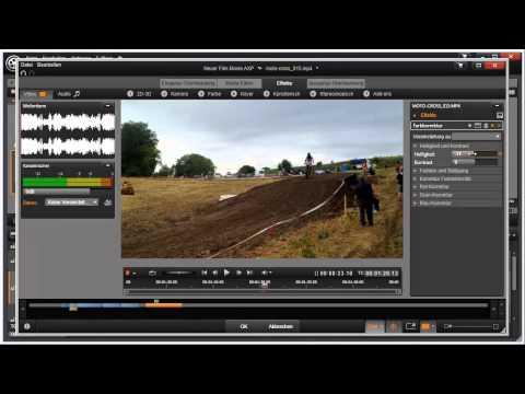 Einfache Farbkorrektur in Pinnacle Studio 16 und 17 Video 69 von 114
