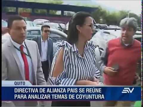 Directiva de Alianza PAIS se reúne en Quito por temas políticos