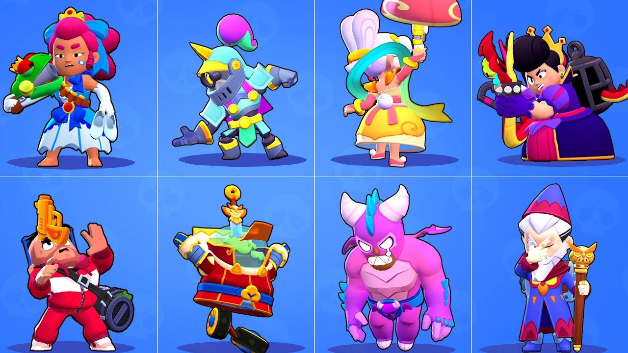 Download ALL NEW SKINS WINNING AND LOSING POSE ANIMATION | BRAWL STARS