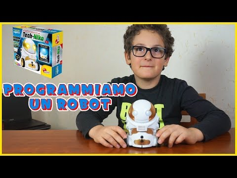 at home Luxury Follow us  TECH-NIKO Lisciani un robot programmabile super carino - YouTube