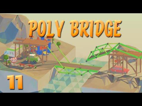 Die Brücke aus der Hölle! | 11 | POLY BRIDGE