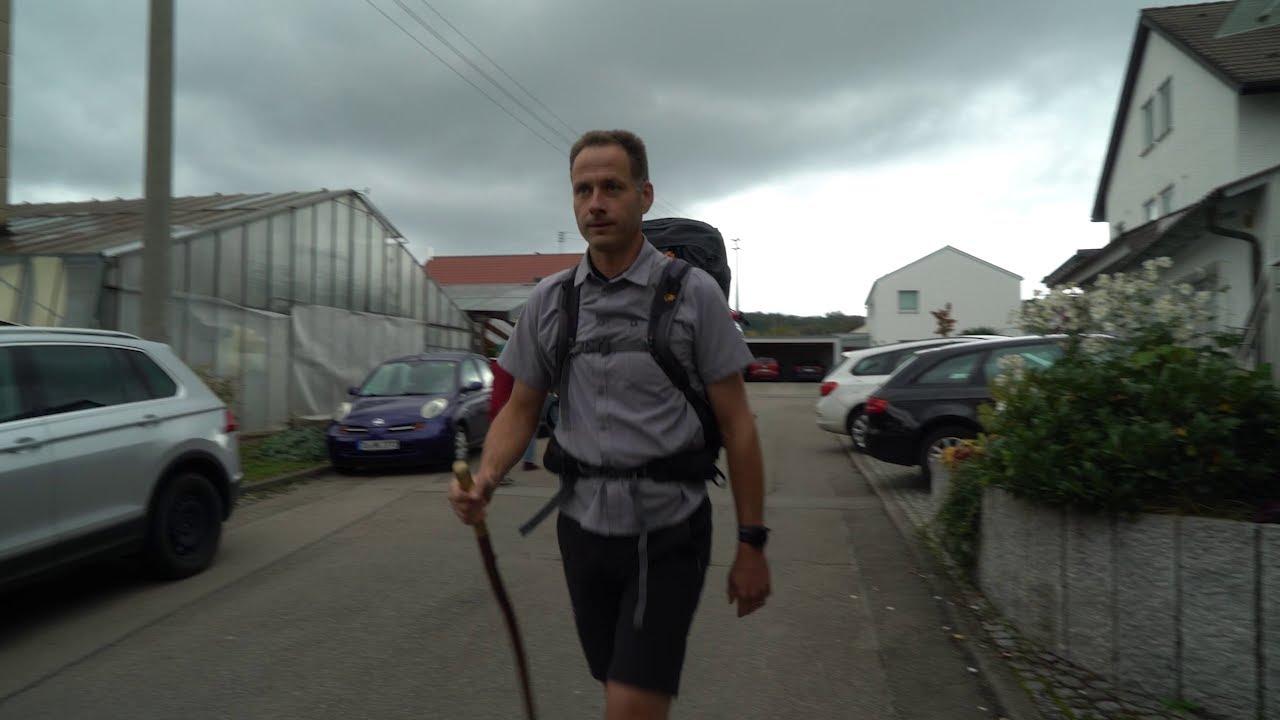 In 80 Tagen bis Santiago: Pilger Bernhard auf dem Jakobsweg
