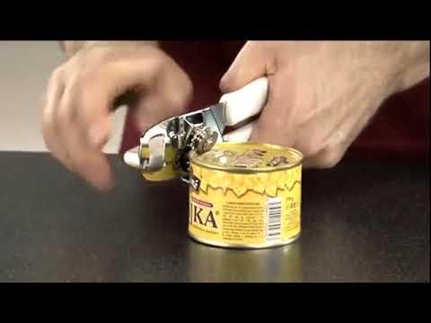 Нож консервный Tescoma Presto, винт и ручки из пластика
