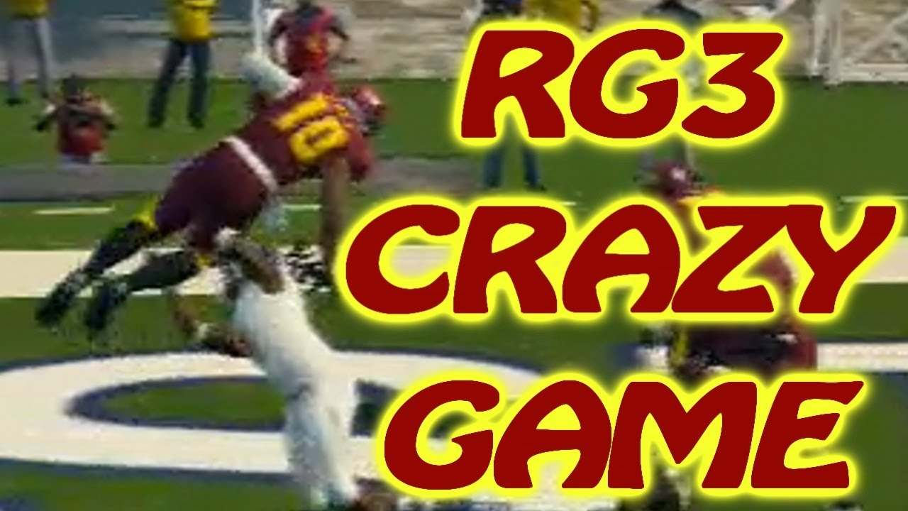 NCAA 14 Ultimate Team - Crazy Game - RG3 - College ...