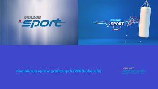 Polsat Sport - Kompilacja opraw graficznych (2000-2021)