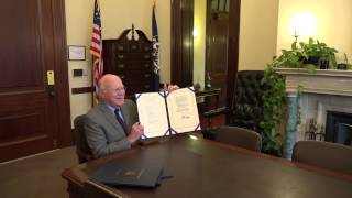 "Leahy Signs ""STELA"" Bill Extending Satellite TV Law To Ensure Continued Coverage For Viewers"