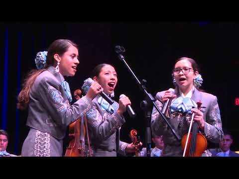 TUSD1 Mariachi Aztlán de Pueblo Magnet High School Performs 10 24 17