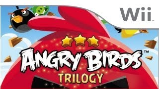 Angry Birds Trilogy - First 7 Minutes - Wii Version HD