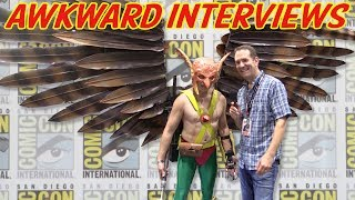Awkward Interviews with Cosplayers at Comic-Con 2017