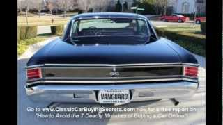 1967 Chevy Chevelle SS Classic Muscle Car for Sale in MI Vanguard Motor Sales