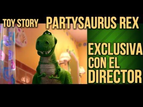 ¡Toy Story Partysaurus Rex Entrevista Exclusiva con el Director!