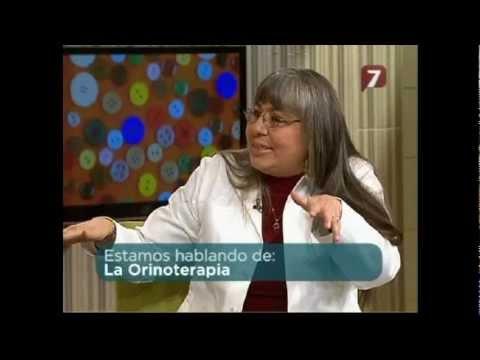 Entrevista a Adamelia Rodriguez con Los del 7 Tema Orinoterapia