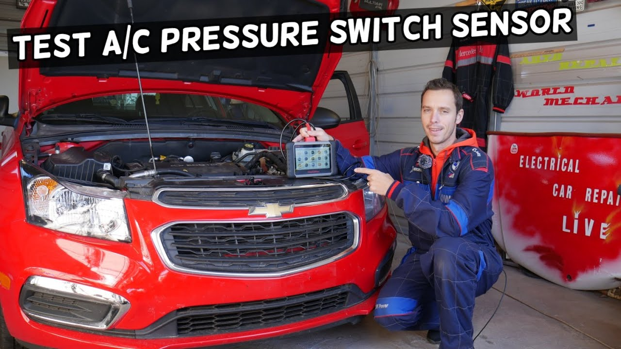 How To Test Ac Pressure Switch On Chevy Chevrolet Gmc Buick