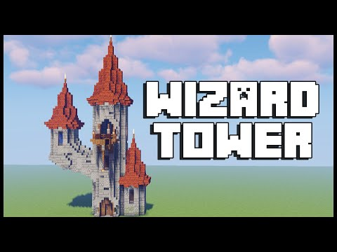 Minecraft: How To Build A Wizard Tower [ Tutorial ]