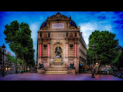 A Walk Around Place Saint-Michel, Paris