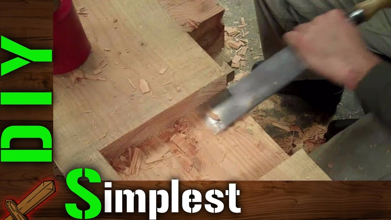 Diy The Simplest Of Traditional Japanese Wood Joints Stepped