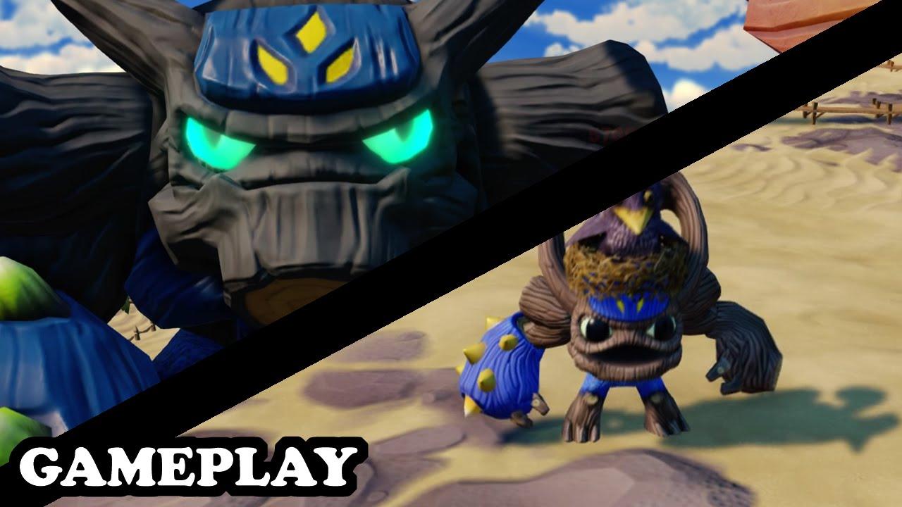 Skylanders Superchargers - Gnarly Tree Rex u0026 Gnarly Barkley GAMEPLAY - YouTube & Skylanders Superchargers - Gnarly Tree Rex u0026 Gnarly Barkley GAMEPLAY