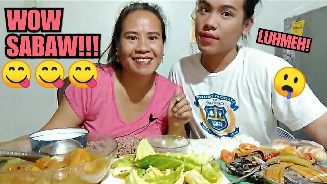 Download MUKBANG  FILIPINO FOOD/ BALBACUA, BROWN RICE, SINAING TULINGAN, PINAGONG