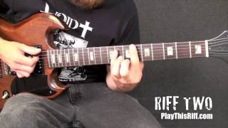 "Fu Manchu ""One Step Too Far"" Guitar Lesson"