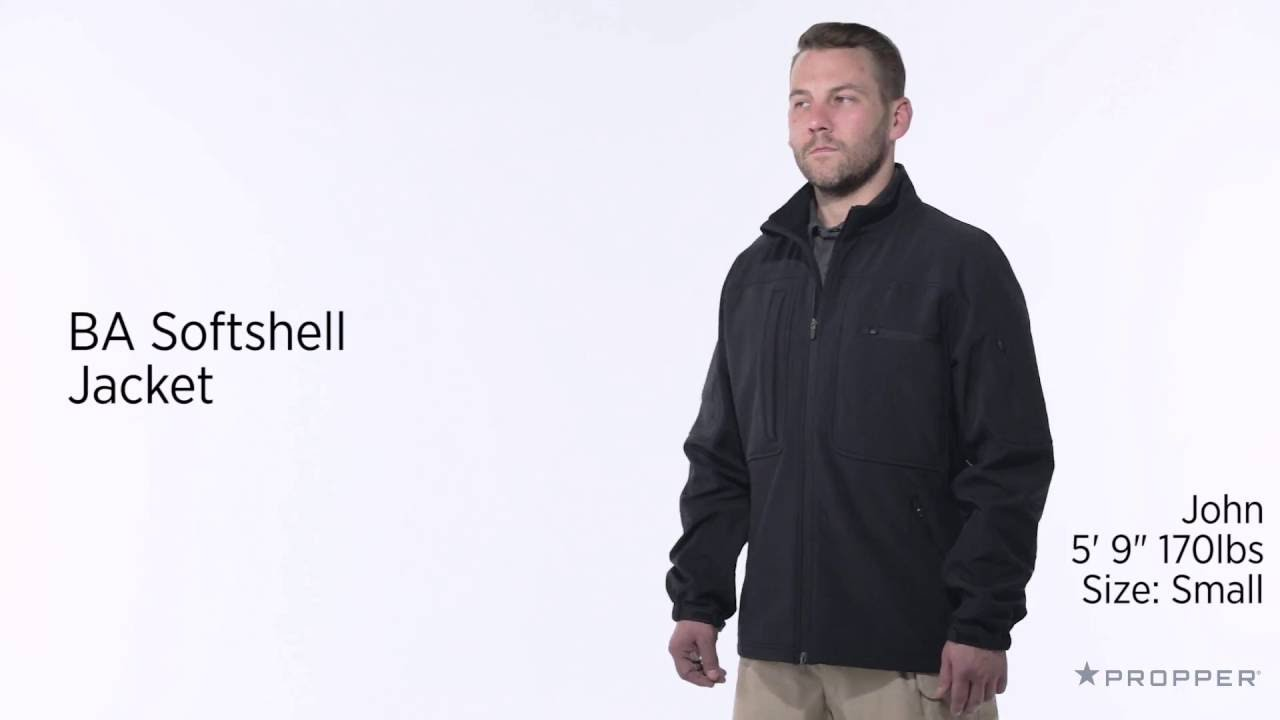 Propper F5428 Mens BA Tactical Concealed Carry Lightweight Softshell Jacket