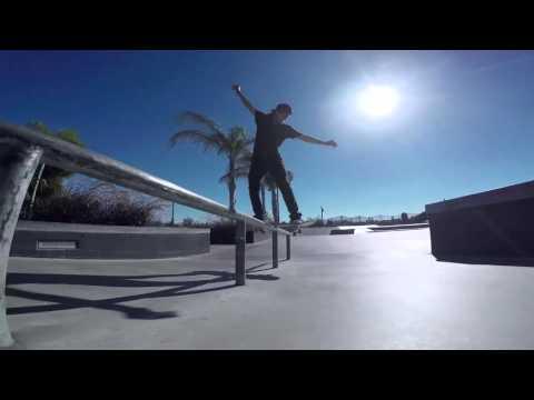 Aura Bredart At Skate Plaza Encinitas, CA.