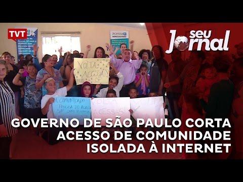 Governo de São Paulo corta acesso de comunidade isolada à internet