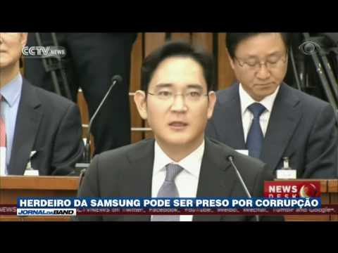 Herdeiro da Samsung pode ser preso por corrupção