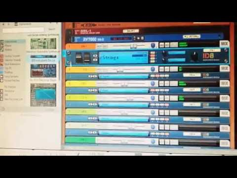 Propellerhead's Reason 8 ID8 instrument device demo