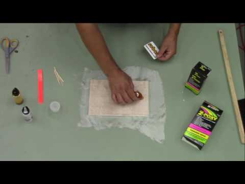 ZAP Fiberglassing with Finishing Resin & Robart's Fiber Kit