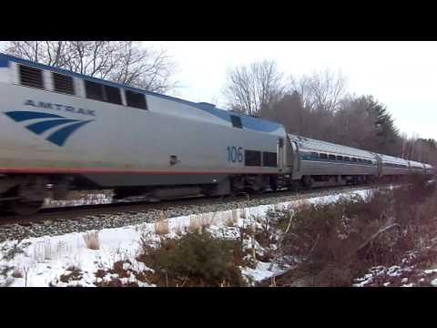 Amtrak Vermonter - Milton VT