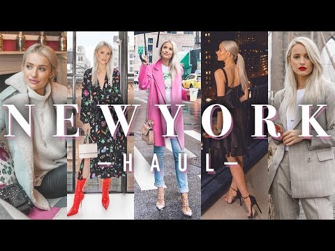 WHAT I WORE IN NEW YORK | NYFW HAUL