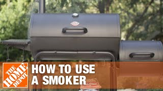 How to Use a Smoker Grill   The Home Depot