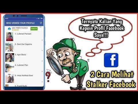 2 Cara Melihat Stalker Facebook Atau Cara Mengetahui Orang Yang Kepoin Profil Facebook Kita
